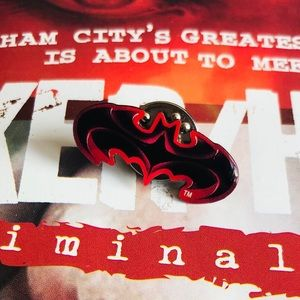 Black & Red Batman Pin
